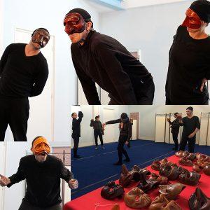 stage commedia dell'arte dirigé par Patrick Forian