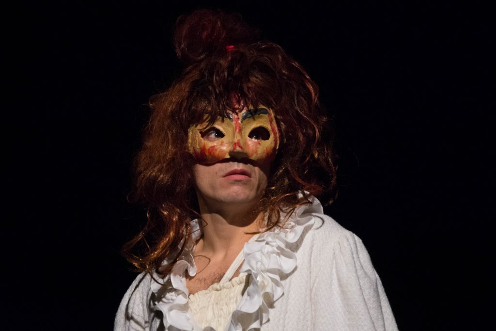 """Rencontre de l'association """"Les Créateurs de Msaques""""autour de Médée, au théâtre Mouffetard, novembre 2018."""